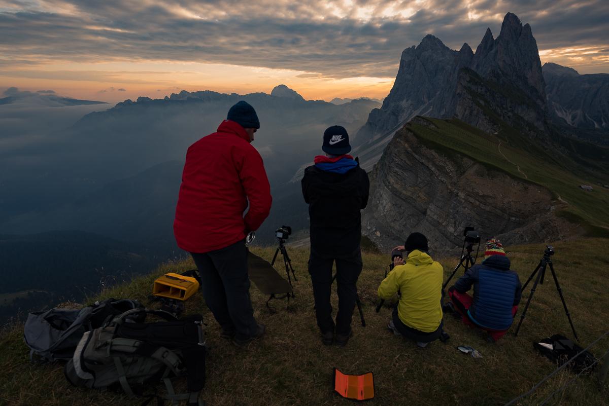 Warsztaty fotograficzne w Dolomitach