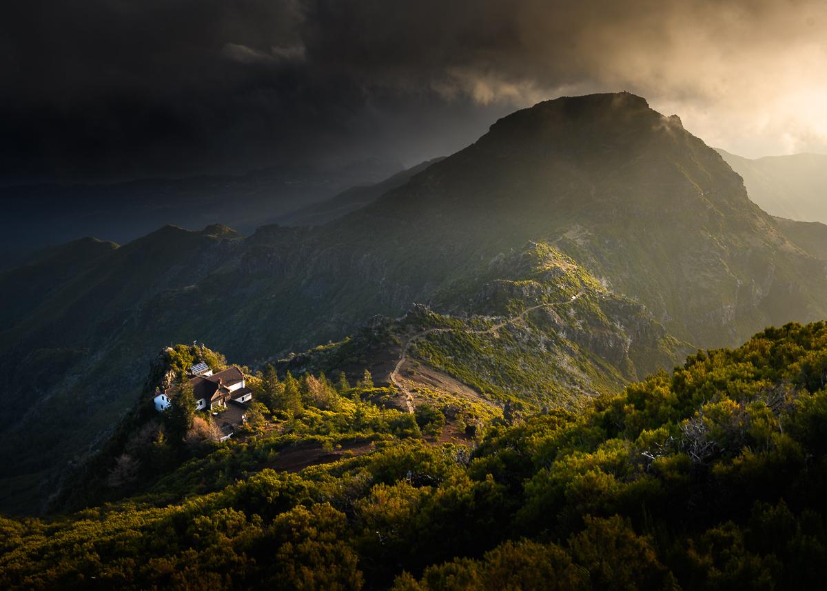 Szlak Pico Arieiro do Pico Ruivo