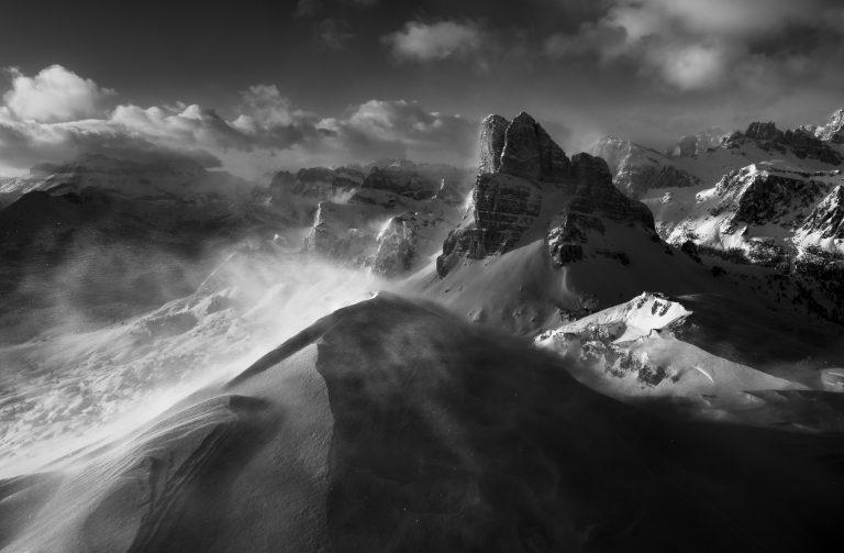 Zimowe Dolomity